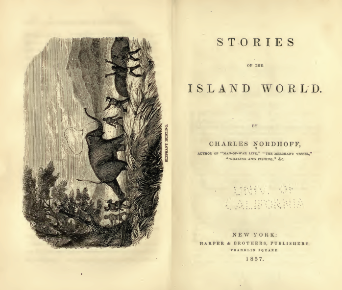 Stories of the Island World by Charles Nordhoff